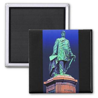 Bismarck Memorial, Berlin, Blue Back Fridge Magnet