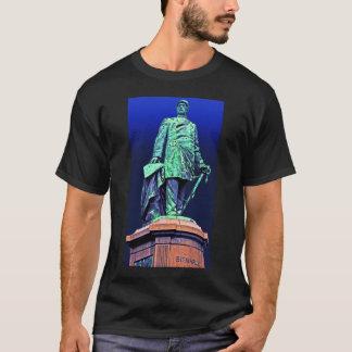 Bismarck Memorial, Berlin, Blue Back T-Shirt