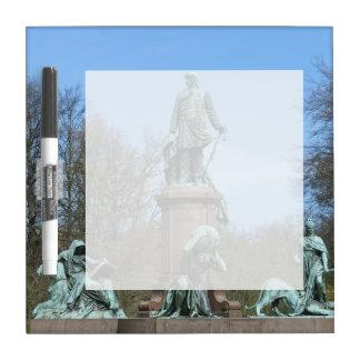 Bismarck Memorial in Berlin Dry Erase Board