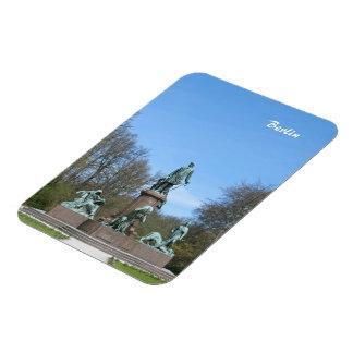 Bismarck Memorial in Berlin Vinyl Magnet