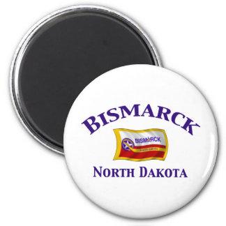 Bismarck, ND Refrigerator Magnets