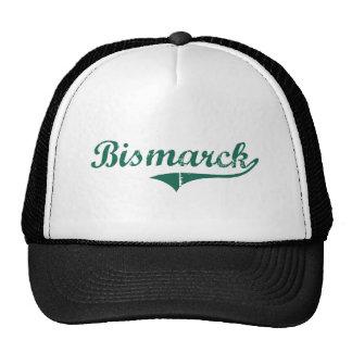 Bismarck North Dakota Classic Design Mesh Hat
