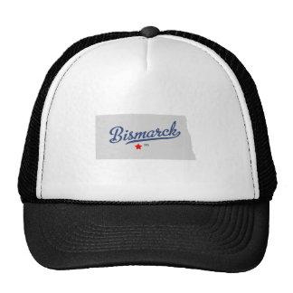 Bismarck North Dakota ND Shirt Mesh Hat
