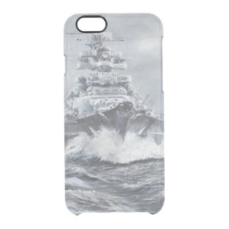 Bismarck off Greenland coast 1900hrs 23rdMay Clear iPhone 6/6S Case