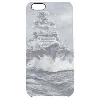 Bismarck off Greenland coast 1900hrs 23rdMay Clear iPhone 6 Plus Case
