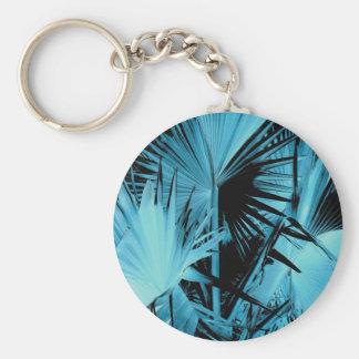 Bismarck Palm Key Chain Blue