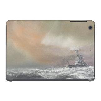 Bismarck señala Prinz Eugen 0959hrs el 24 de mayo Fundas De iPad Mini Retina