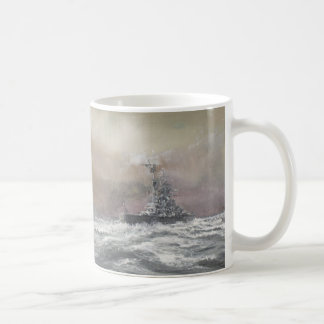 Bismarck signals Prinz Eugen 0959hrs 24th May Coffee Mug