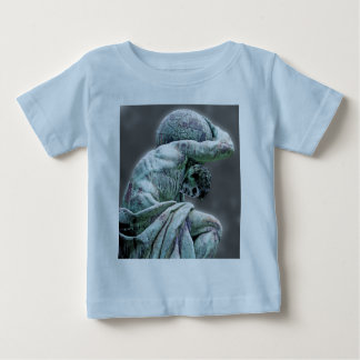 Bismarck Statue, Berlin, Greek God Atlas, Grey Bac Baby T-Shirt
