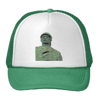Bismarck Statue, Berlin,Head, White Back(bs2pst) Trucker Hat