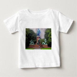 Bismarck Statue, Berlin,Panoramic Baby T-Shirt