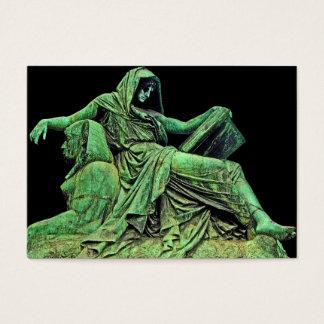 Bismarck Statue, Berlin, Sibyl, Read, Sphinx (p2) Business Card