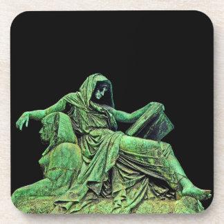 Bismarck Statue, Berlin, Sibyl, Read, Sphinx (p2) Coaster