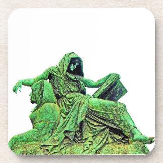 Bismarck Statue, Berlin, Sibyl, Read, Sphinx (p3) Beverage Coaster