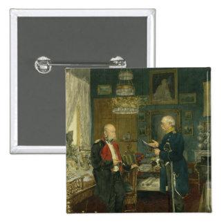 Bismarck with Emperor Wilhelm I Pinback Button