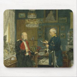 Bismarck with Emperor Wilhelm I Mouse Pads