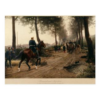 Bismarck y Napoleon Tarjetas Postales