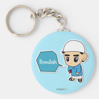 Bismillah Boy Keychain