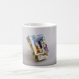 Bismuth Crystal Classic White Coffee Mug