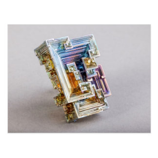 Bismuth Crystal Postcard