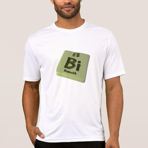 Bismuto del BI Camiseta