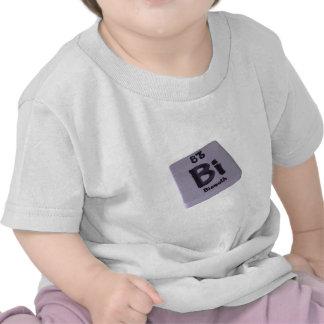 Bismuto del BI Camisetas