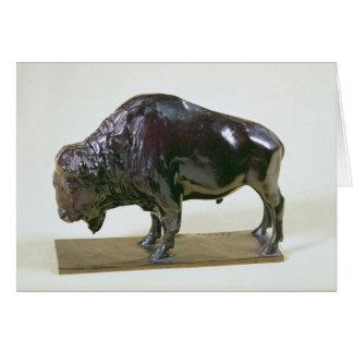 Bison, 1907 card
