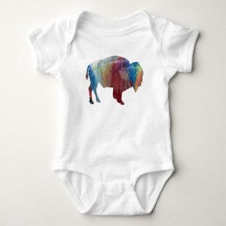 Bison art baby bodysuit