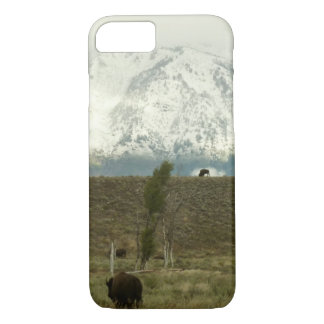 Bison at Grand Teton National Park Photography iPhone 7 Case