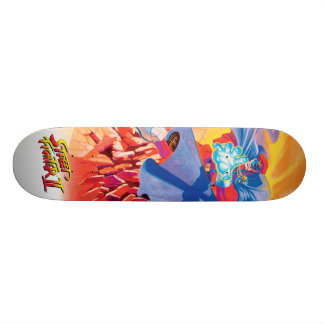 Bison Attack Skateboard Deck