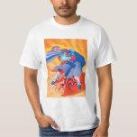 Bison Attack T Shirt