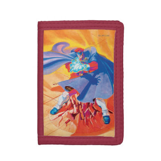Bison Attack Trifold Wallets