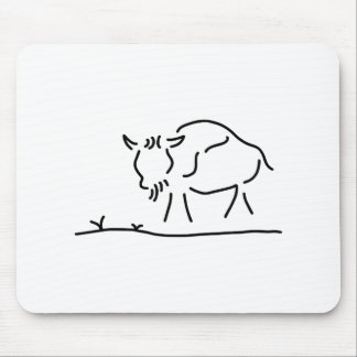 bison buffalo America Mouse Pad