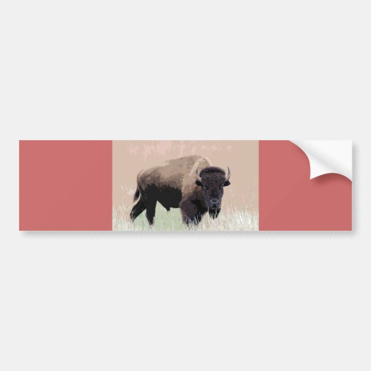 Bison / Buffalo Bumper Sticker