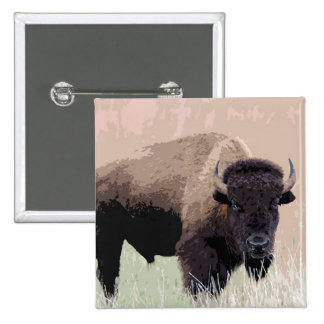 Bison / Buffalo Button