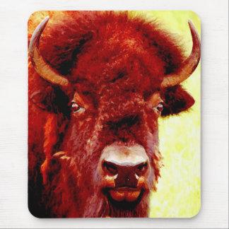 Bison / Buffalo Face Mousepad