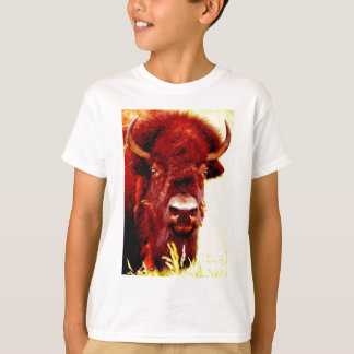 Bison / Buffalo Face T-Shirt