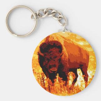 Bison / Buffalo Keychain