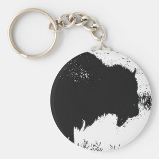 Bison - Buffalo Keychains
