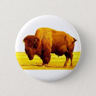 Bison / Buffalo Pinback Button