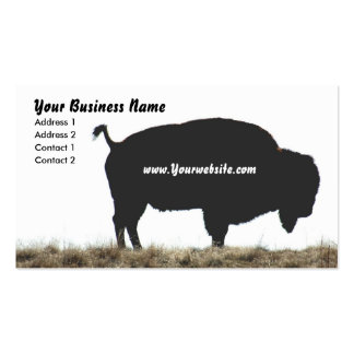 Bison Business Business Card