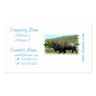 Bison Business Cards