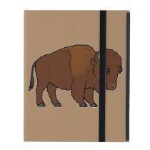 Bison Cartoon iPad Case