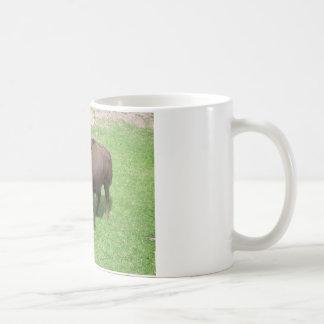Bison Classic White Coffee Mug