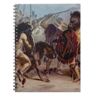 Bison dance notebook