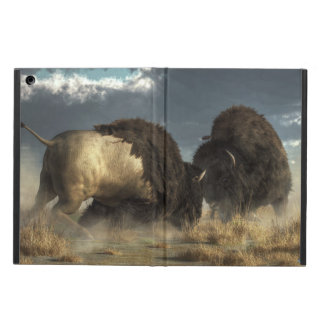 Bison Fight Case For iPad Air