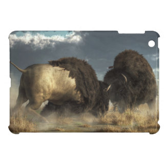 Bison Fight Cover For The iPad Mini