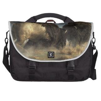 Bison Fight Commuter Bag
