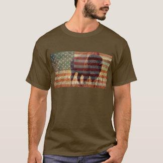 Bison Flag T-Shirt