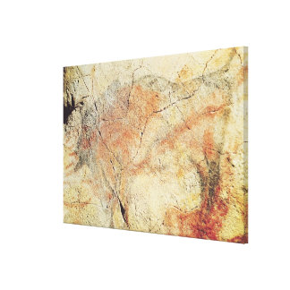 Bison, from the Caves at Altamira, c.15000 BC Canvas Print